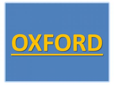OXFORD Social Meeting – Social details TBA