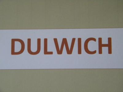Dulwich - Club Afternoon